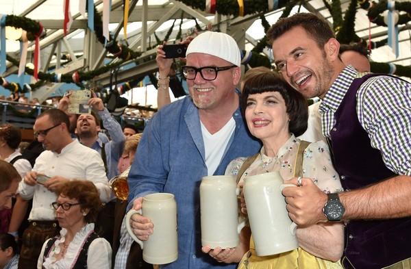 Mireille Mathieu Photos: Celebrities Hang out at Oktoberfest 2015 - Day 1