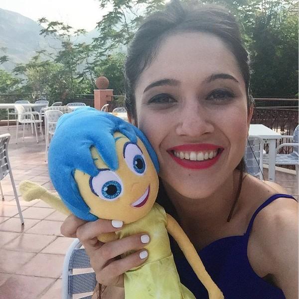 """Lodovica Comello on Instagram: """"Vi saluta #Gioia ! #InsideOut #EMOZIONIcercasi 👋🏼👋🏼👋🏼"""""""