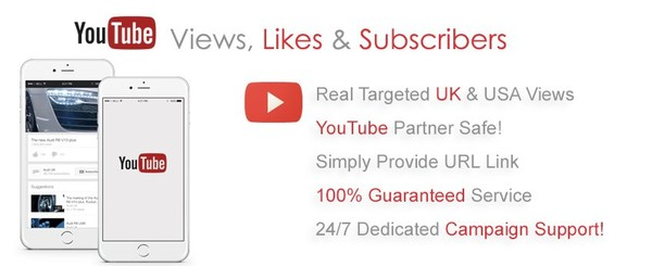Buy YouTube Views & Get FREE Likes/Subscribers!