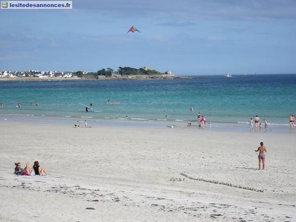 Location de vacances Location à 100m de la PLAGE Bretagne Finistère - lesitedesannonces.fr