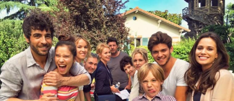 Lucie Lucas, Agustin Galiana, Rayane Bensetti… Ils s'éclatent sur le tournage de Clem (PHOTOS)