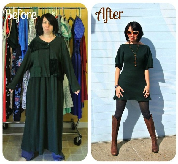 Highly unique thrift shop outfits - NICE PLACE TO VISIT