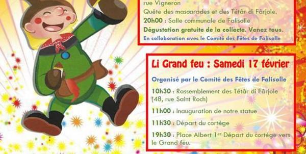 Carnaval des Tètâr di Fârjole à Falisolle