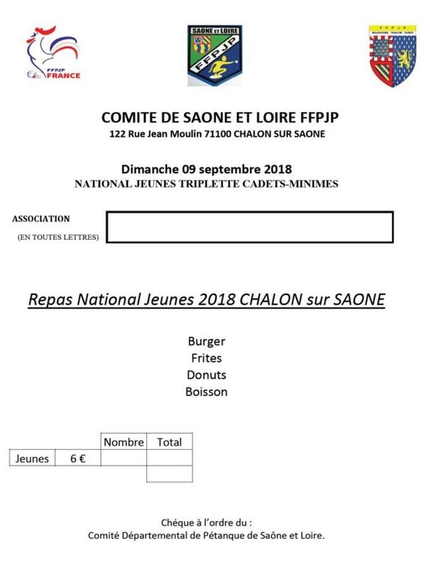 40ème National de Chalon sur Saône