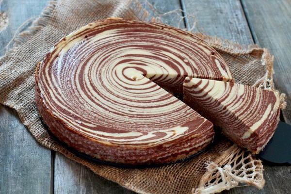 Recette - Zebra Cheesecake - Notée 4.3/5 par les internautes