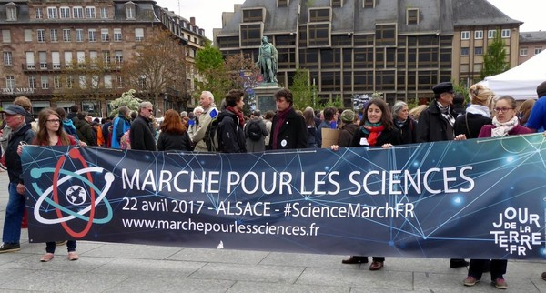 A Strasbourg, les sciences marchent