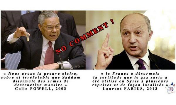 Gaz sarin en Syrie : la Maison-Blanche freine Paris