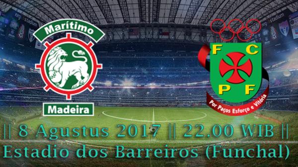 Prediksi Maritimo vs Pacos De Ferreira 8 Agustus 2017 Liga Portugal