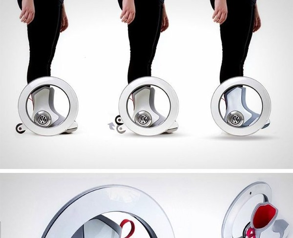 The Volkswagen Roller is a new-age roller skate. It's autonomous, and hands-fr… – cupbord