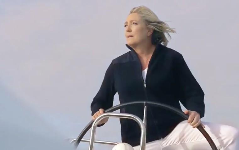 L'excellente parodie du clip de campagne de Marine Le Pen