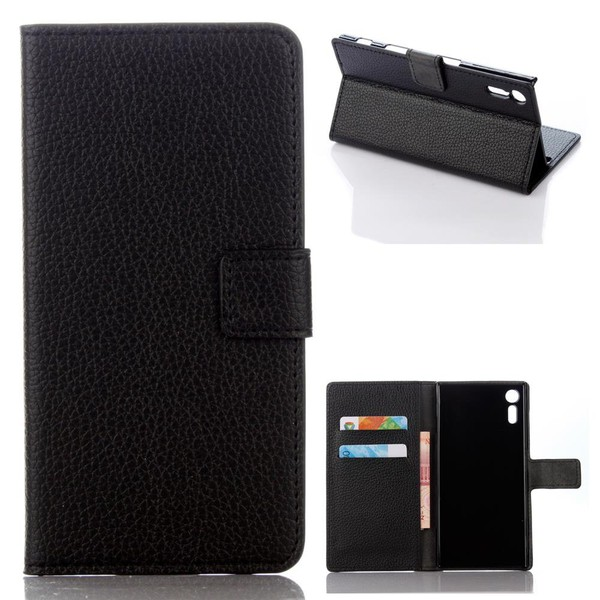 Guuds для Sony Xperia XZ кожаный чехол личи кожаный бумажник чехол для Sony XZ/XZ Dual Бесплатная доставкакупить в магази�...