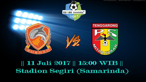 Prediksi Borneo vs Mitra kukar 11 July 2017 Liga 1 Gojek Indonesia