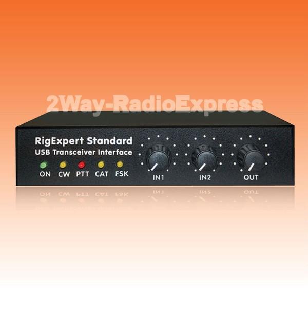 "RigExpert ""Standard"" USB Transceiver Interface for CW, RTTY, PSK-31, SSTV etc.."