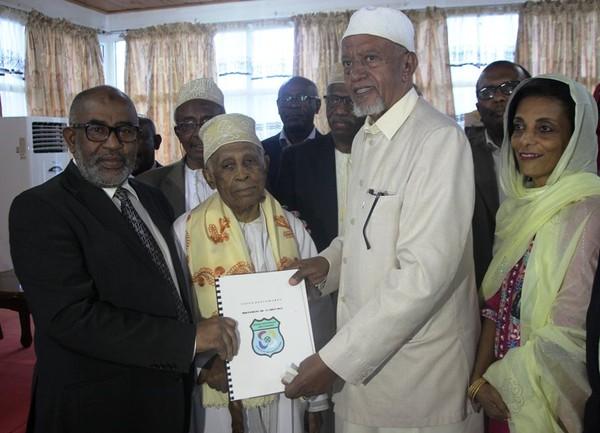 Le Mouvement du 11 août reçu par le Chef de l'Etat | HabarizaComores.com | Toute l'actualité des Comores