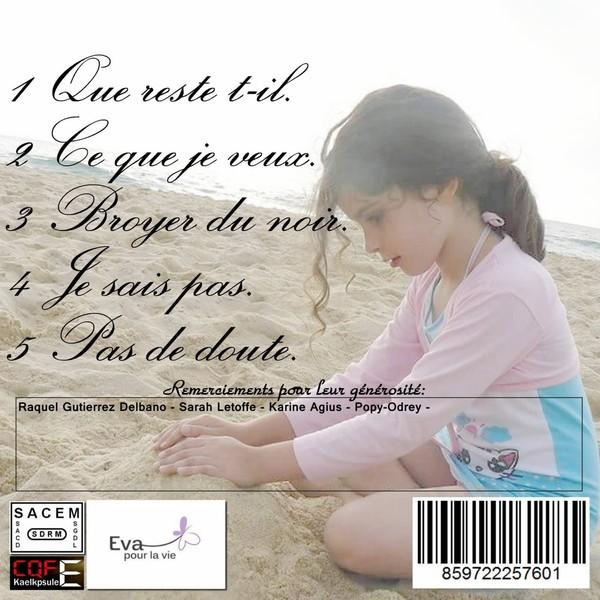 """Cd 5 titres """"Pour Eva"""" - Leetchi.com"""