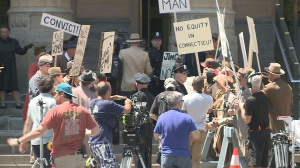 Marshall Movie Shoot Moves To City Hall