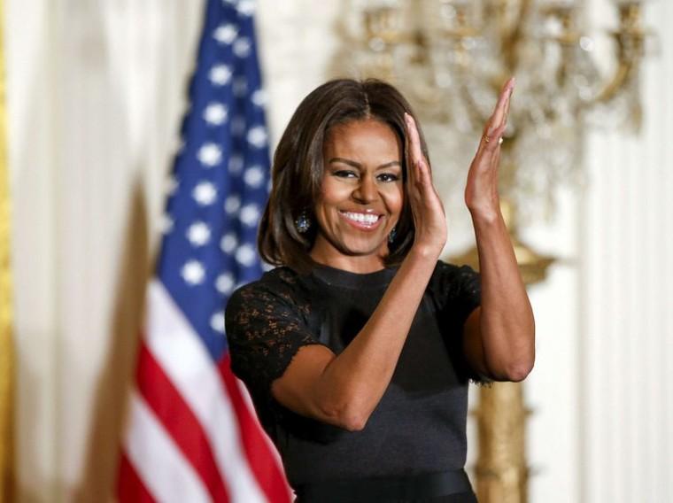 20 photos inoubliables de Michelle Obama
