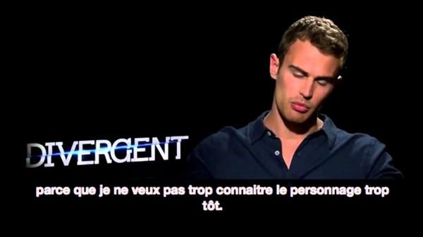 Theo parle de l'alchimie avec Shailene - VOSTFR