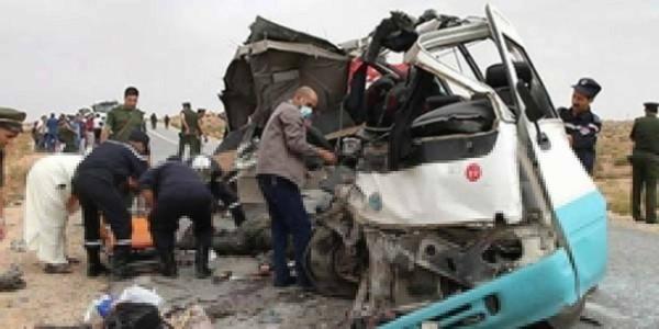 M'sila: 10 morts et 12 blessés dans un accident de la circulation