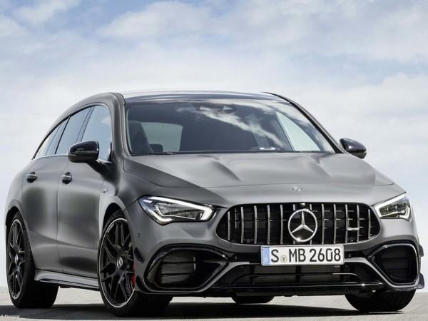 Mercedes-AMG CLA45 S 4Matic Shooting Brake 2020 athlétique et musclé