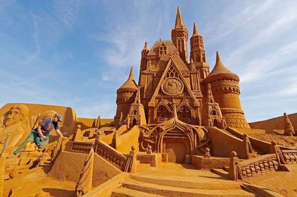 Le festival des sculptures de sable a ouvert ses portes à Ostende (en images)