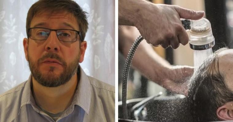 Ce père se fait laver les cheveux au salon de coiffure, 3 jours après, il se bat pour sa vie aux soins intensifs