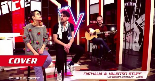 "Cover - Nathalia et Valentin Stuff : ""J'ai besoin d'amour"" - Lorie"