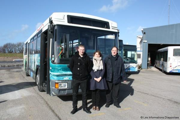 Dieppe Stradibus donne ses pièces détachées pour sauver de vieux bus réformés