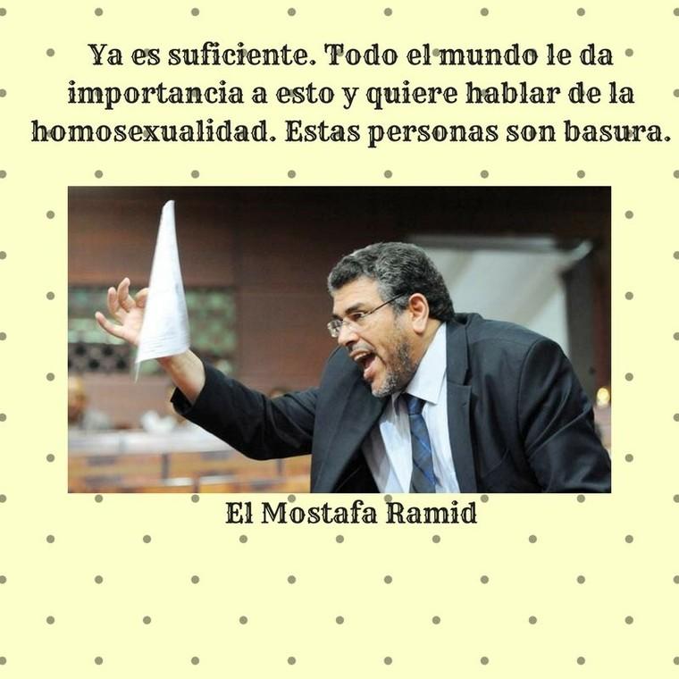 El Mostafa Ramid, une crapule homophobe au Maroc qualifie les homosexuels de détritus de la société  - LNO