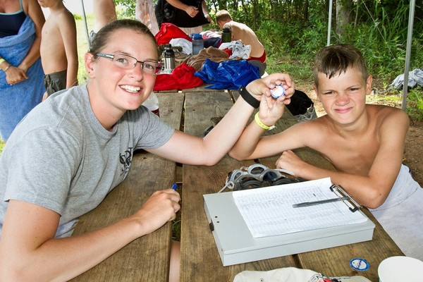 Ira Boy Scout Summer Camp 2011 - Michael Clifton