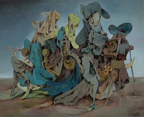 Exposition Art Blog: Kurt Seligmann - Surrealism