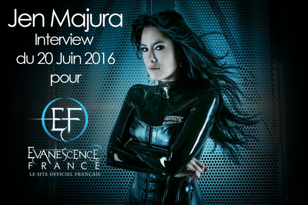 Evanescence-France.com | Jen Majura : son interview vidéo pour Evanescence-France