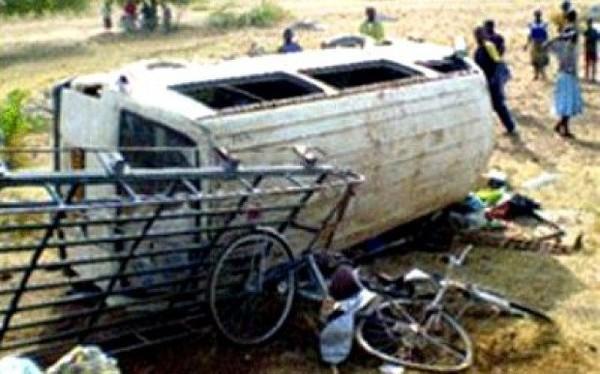 Drame: 5personnes ont trouvé la mort dans deux accidents de circulation à Fatick et à Louga
