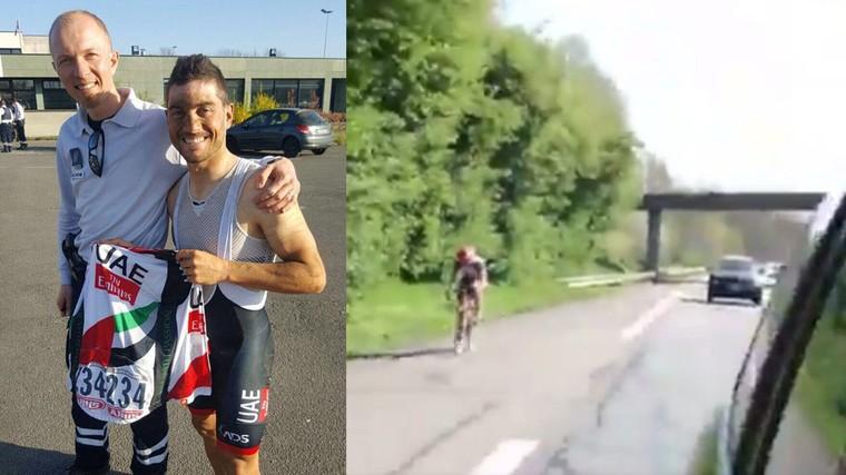 L'Italien Andrea Guardini s'égare après le Paris-Roubaix et se retrouve sur l'A23 - France 3 Hauts-de-France