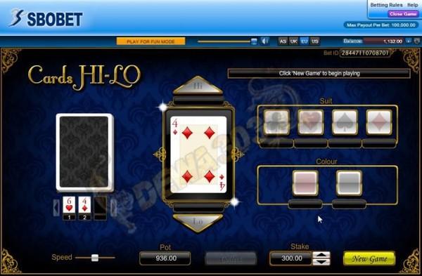 Situs Judi Hi Lo Online