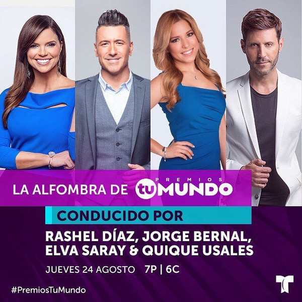 Instagram post by @premiostumundo • Aug 8, 2017 at 6:22pm UTC