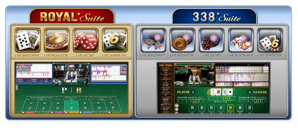 Judi Casino SBOBET Royal Suite Dan 338 Suite Android iOS