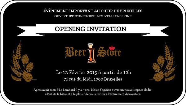 Beer Store, une nouvelle enseigne dédiée à la Bière à Bruxelles - Last night in Orient