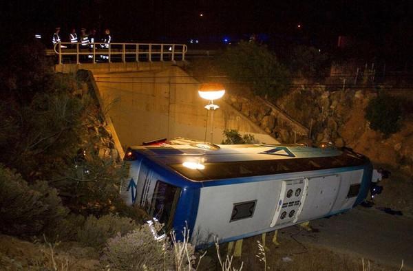 Portugal : trois touristes tués dans un accident de car