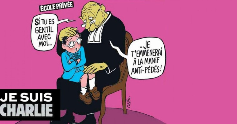 En images : les dessins gay-friendly de « Charlie Hebdo » - TÊTU