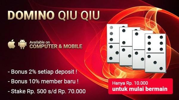 Permainan Judi Domino QQ Online Terbaik di Indonesia