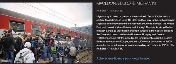 Migrants : le photomontage du maire de Béziers Robert Ménard fait p...