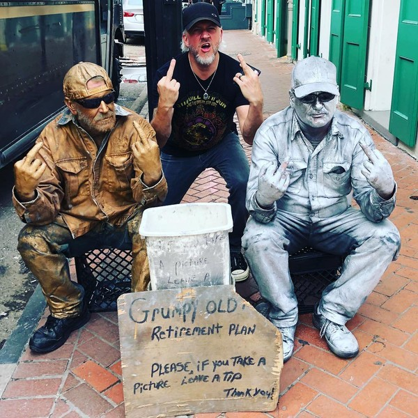 "Troy McLawhorn on Instagram: ""Hangin in NOLA yesterday with these guys!!! #synthesistourus2018"""