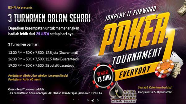 Daftar Poker Online kembali menghadirkan Turnamen Asia Poker Cup 2017