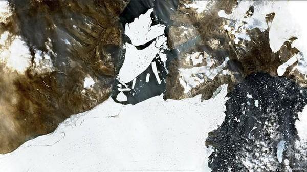 Groenland : l'équivalent de l'étendue de la Floride a fondu en un jour