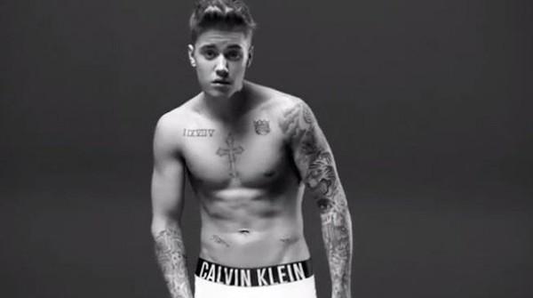 Calvin Klein s'offre Justin Bieber !