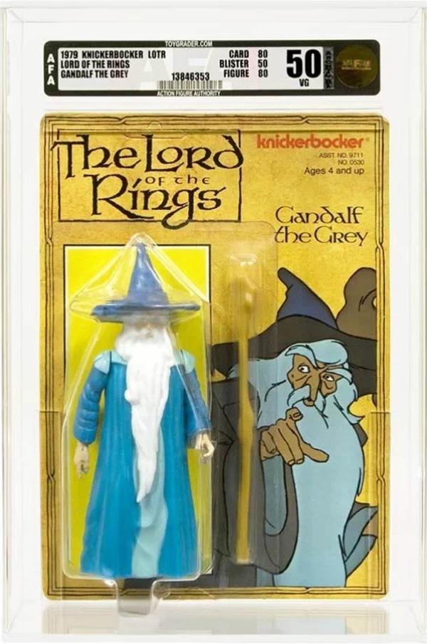Les figurines rétro Seigneur Des Anneaux en 1978 | Ufunk.net
