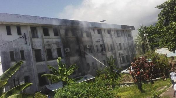 Un incendie au trésor public des Comores