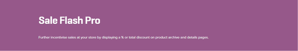 WooCommerce Sale Flash Pro 1.2.6 Extension - Get Lot