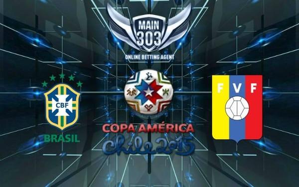 Prediksi Brasil vs Venezuela 22 Juni 2015 Copa America